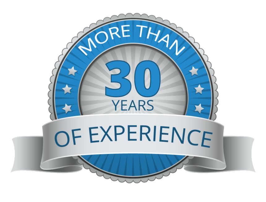 over 30 years experience hd